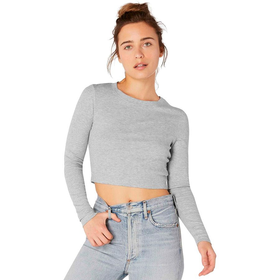 Beyond Yoga Keep In Line Cropped Pullover - Womens