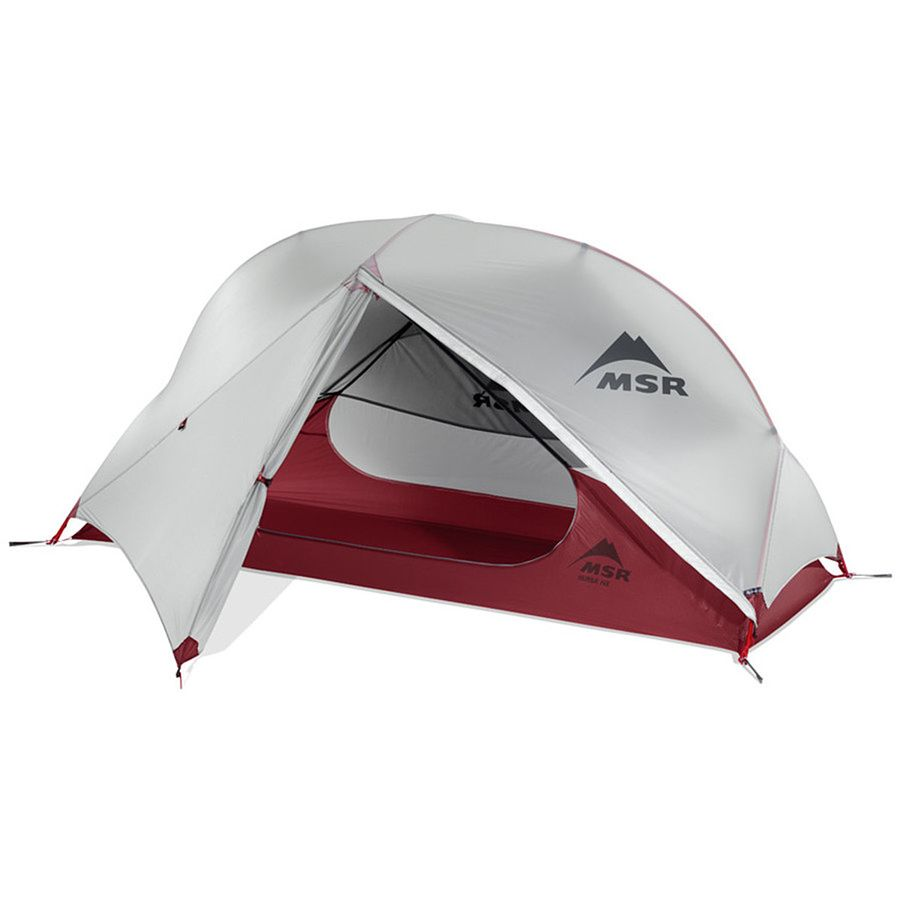 MSR - Hubba NX Tent 1-Person 3-Season - Red  sc 1 st  Backcountry.com : 1 person 3 season tent - memphite.com