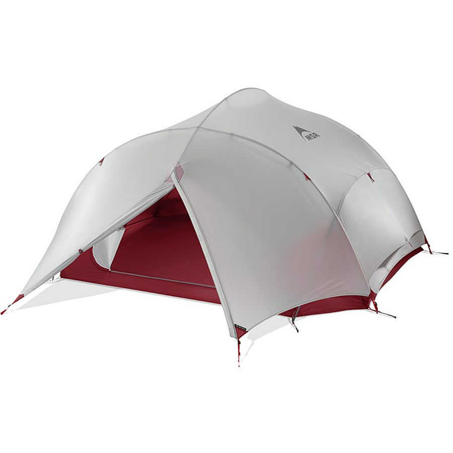 MSR - Papa Hubba NX Tent 4-Person 3-Season - Red  sc 1 st  Backcountry.com : hubba tent - memphite.com