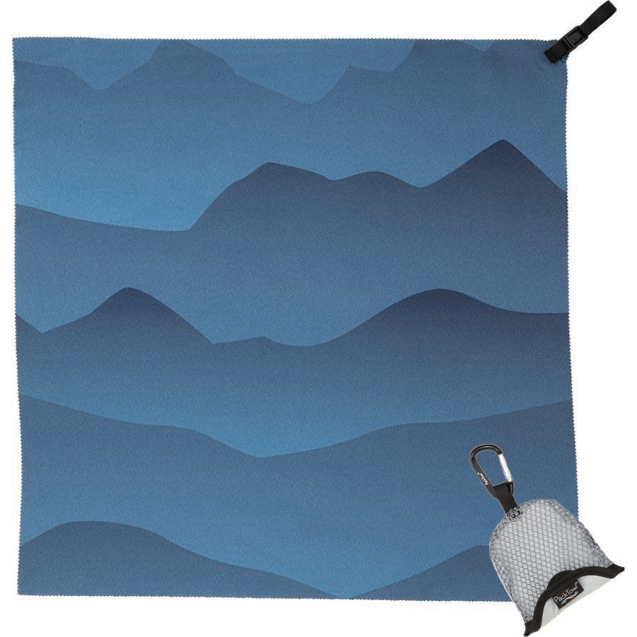 Packtowl - Nano Towel - Blue Mountain