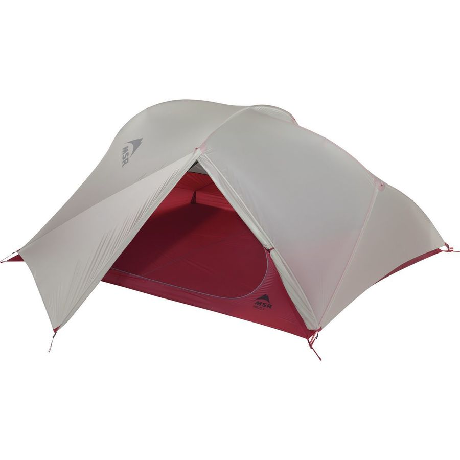 MSR - Freelite 3 Tent 3-Person 3-Season - Red  sc 1 st  Backcountry.com & MSR Freelite 3 Tent: 3-Person 3-Season | Backcountry.com