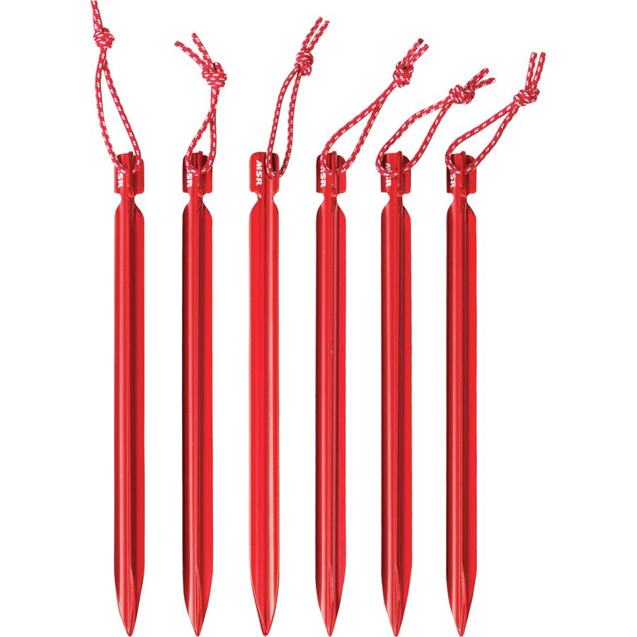 Individual MSR Hook Tent Stake