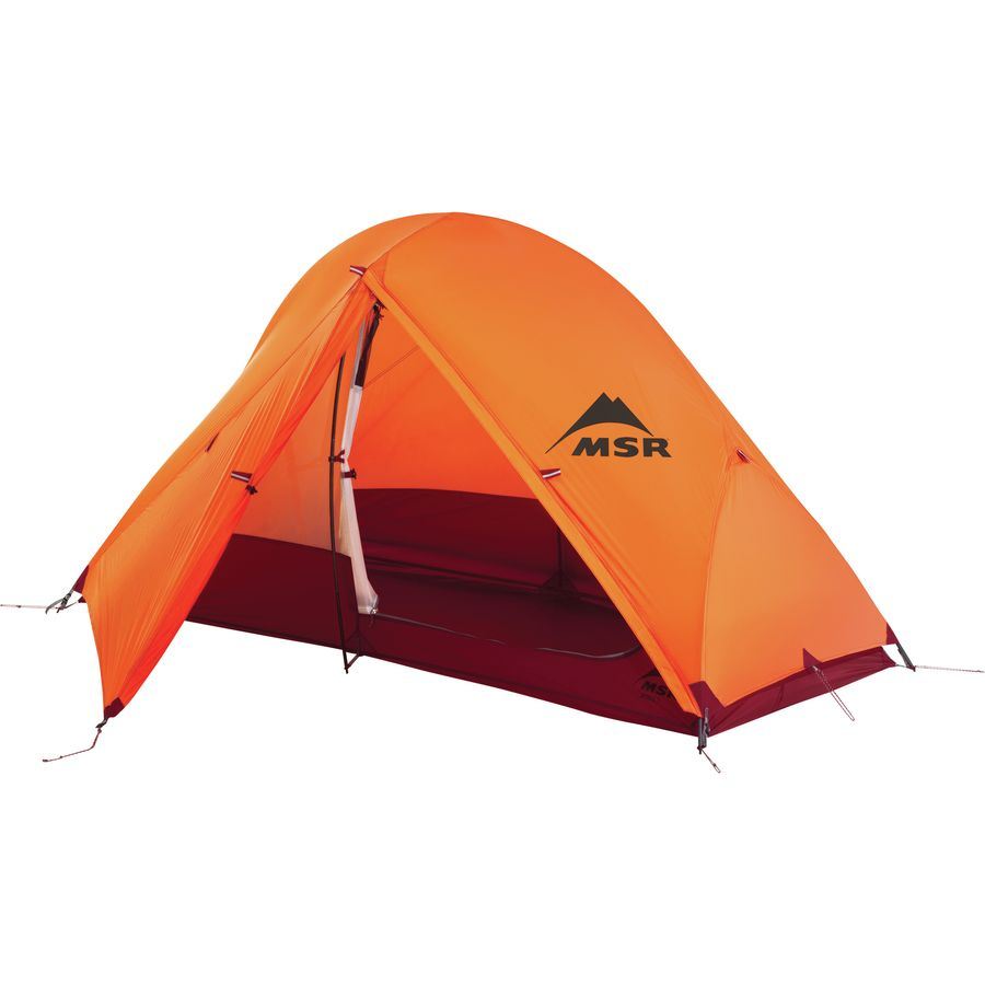 MSR - Access 1 Tent 1-Person 4-Season - Orange  sc 1 st  Backcountry.com & MSR Access 1 Tent: 1-Person 4-Season | Backcountry.com