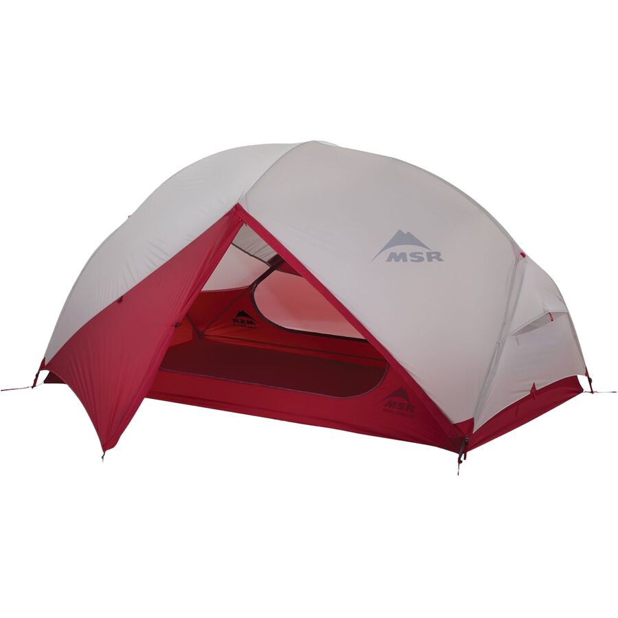 MSR - Hubba Hubba NX Tent: 2-Person 3-Season - Red