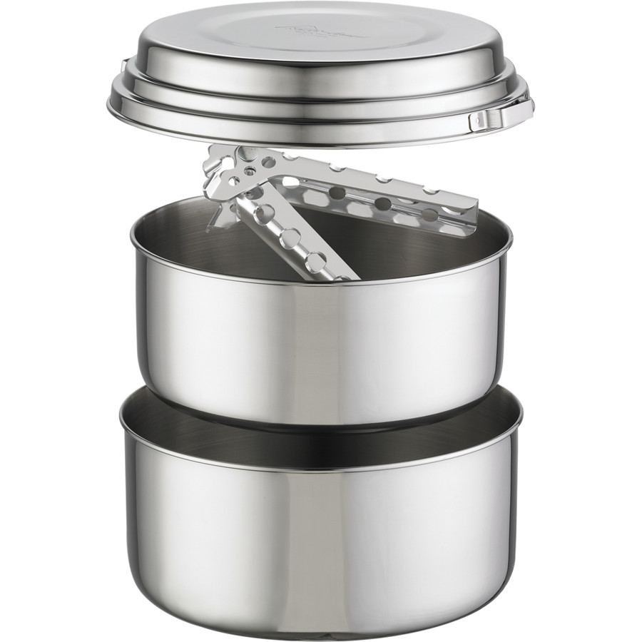MSR Alpine 2 Stainless Steel Pot Set