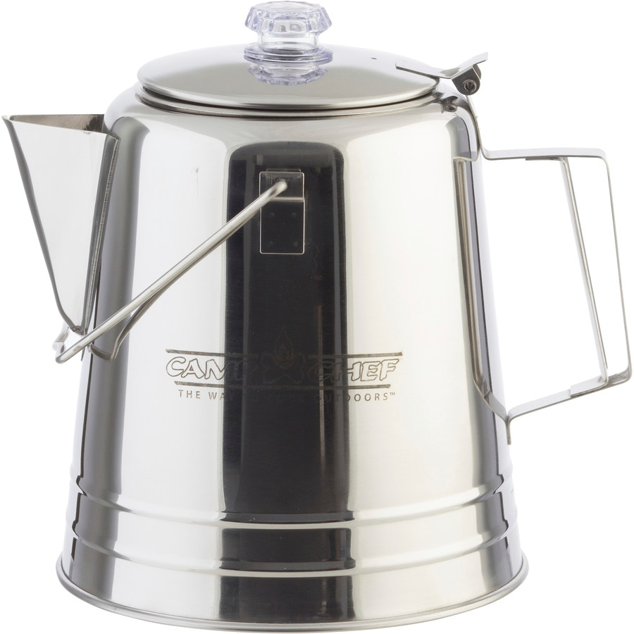 Camp Chef Stainless Steel Coffee Pot One Color