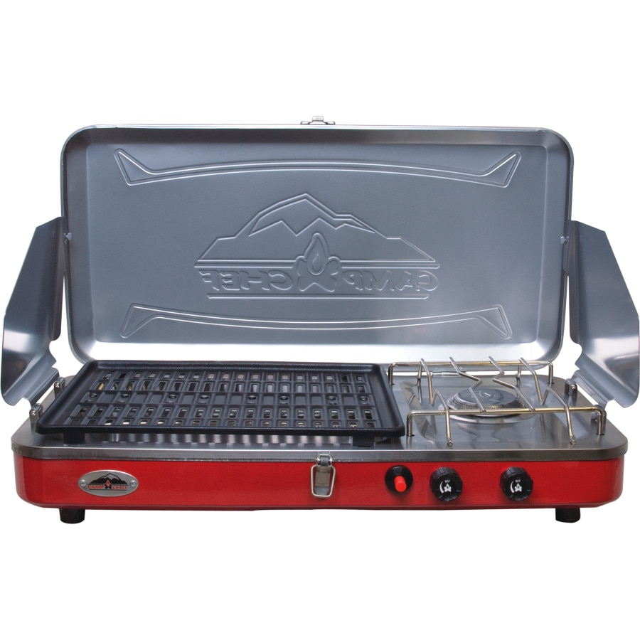 Camp Chef Rainier Camper Griddle/Grill/Stove Combo | Backcountry.com