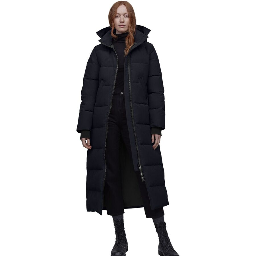 Canada Goose - Mystique Down Parka - Women s - Navy 71bb02a623