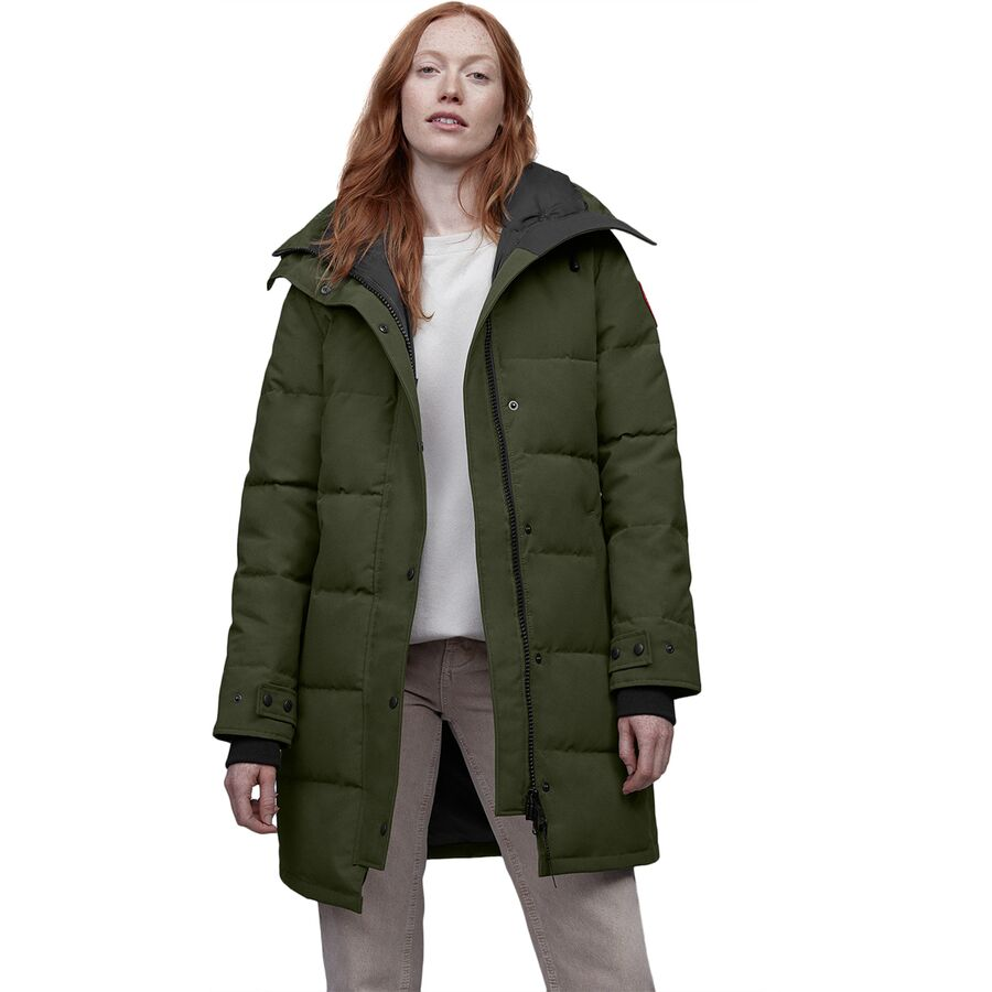 Canada Goose - Shelburne Down Parka - Women s - Military Green f33a03303f