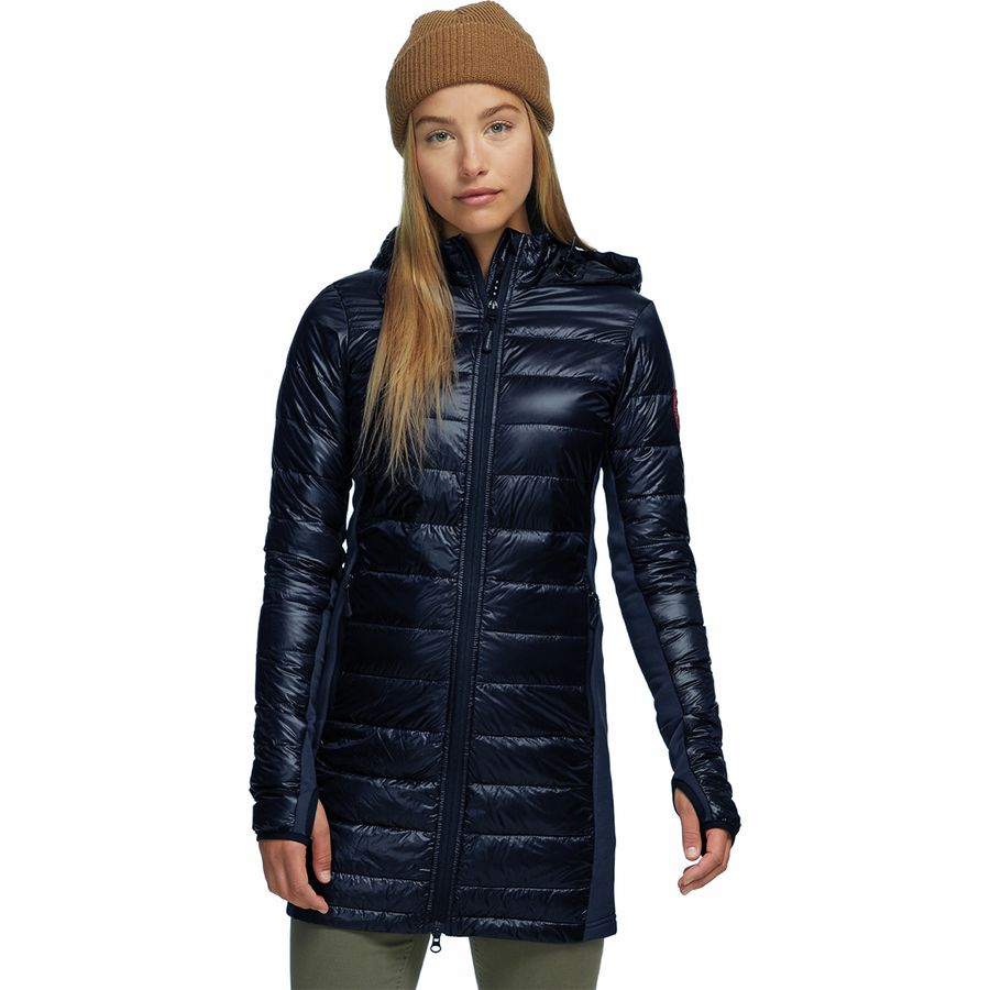 Canada Goose - Hybridge Lite Down Coat - Women's - Admiral Blue/Black