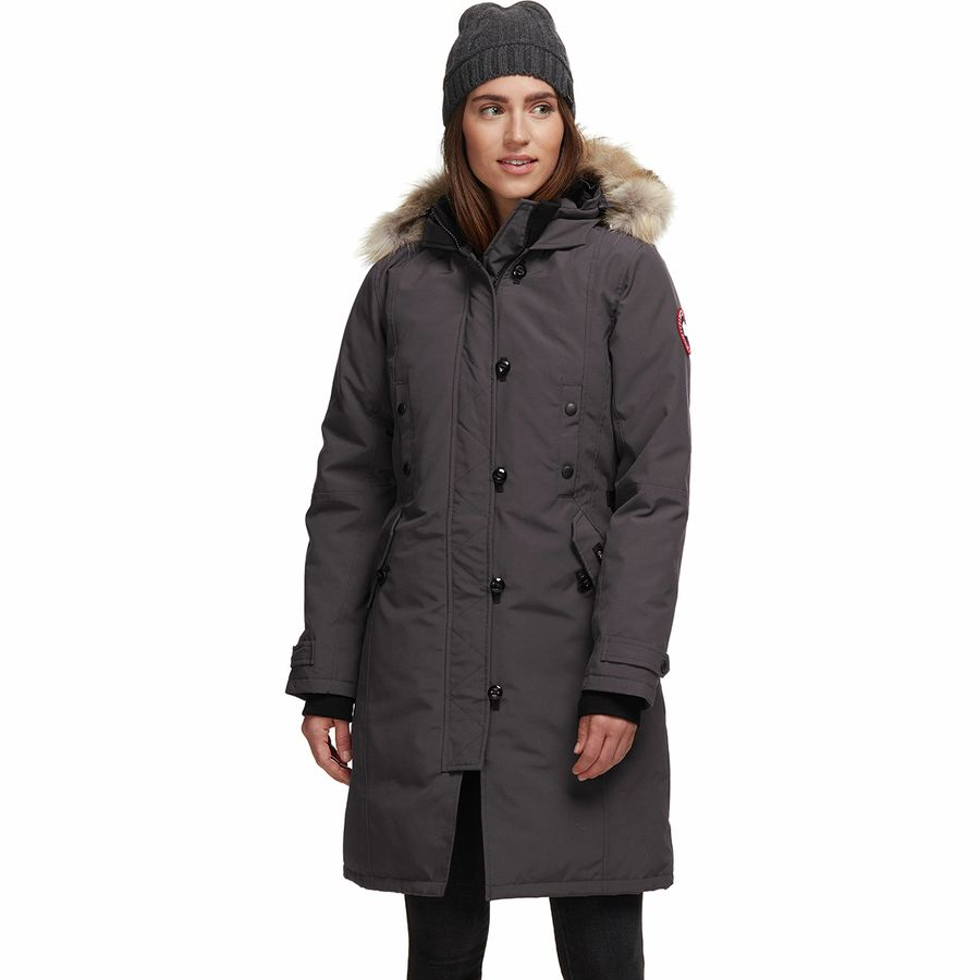 Canada Goose - Kensington Down Parka - Women s - Graphite fd44fec3be