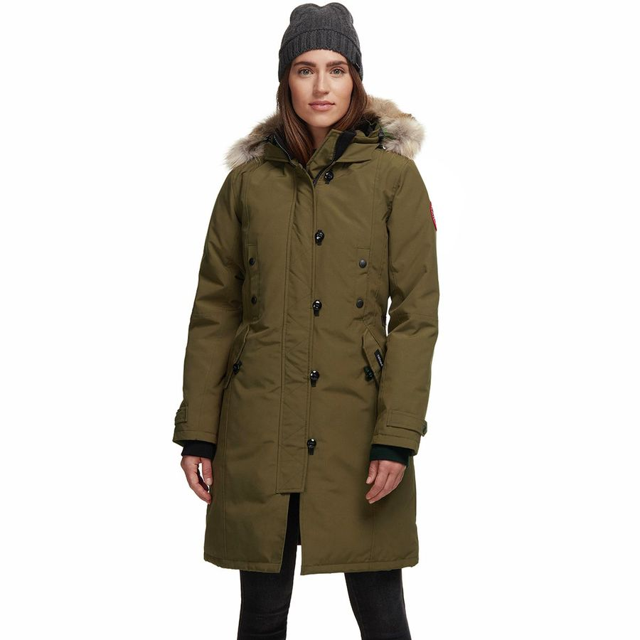 485e63a0bca Canada Goose - Kensington Down Parka - Women s - Military Green