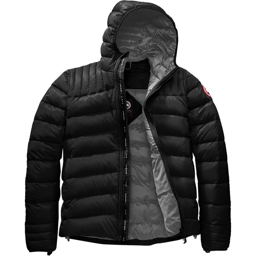 91f1c69cc169 Canada Goose - Brookvale Hooded Down Jacket - Men s - Black Graphite
