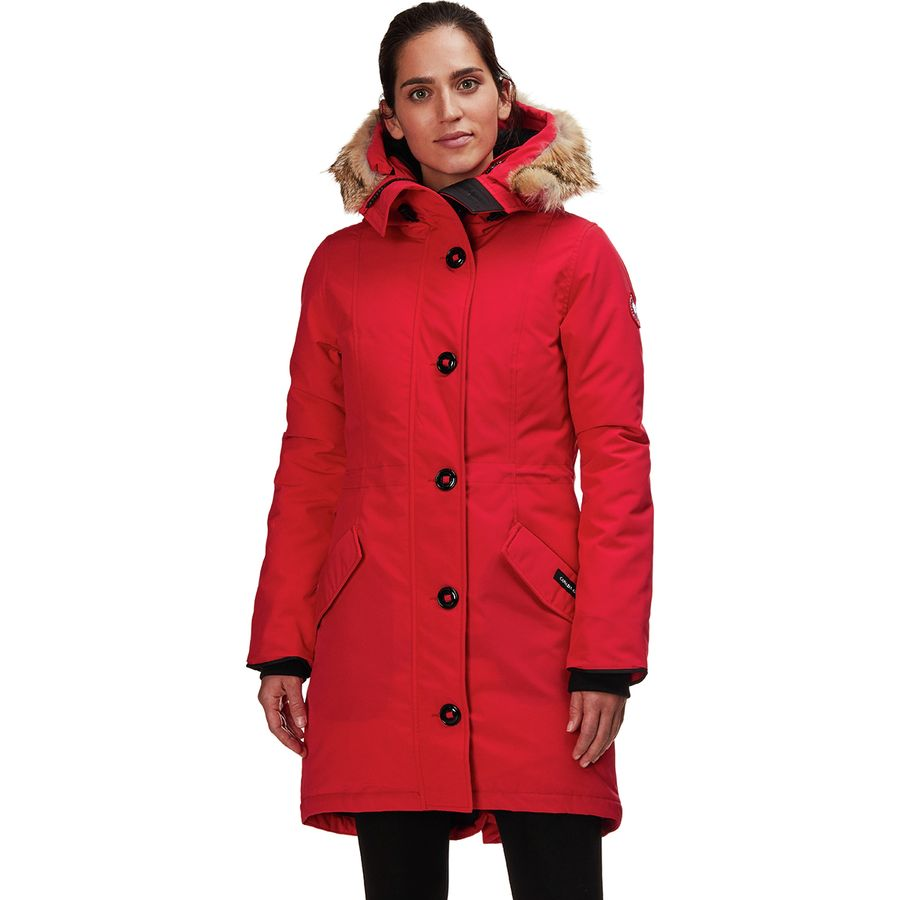 canada goose rossclair red