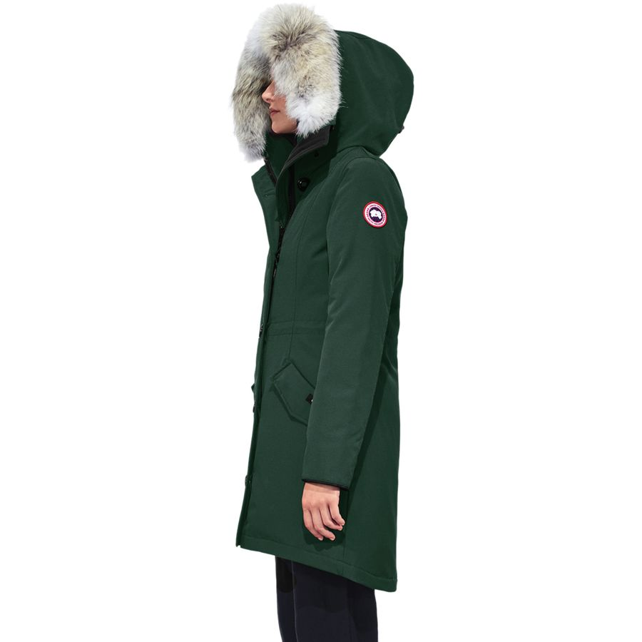 canada goose rossclair size chart
