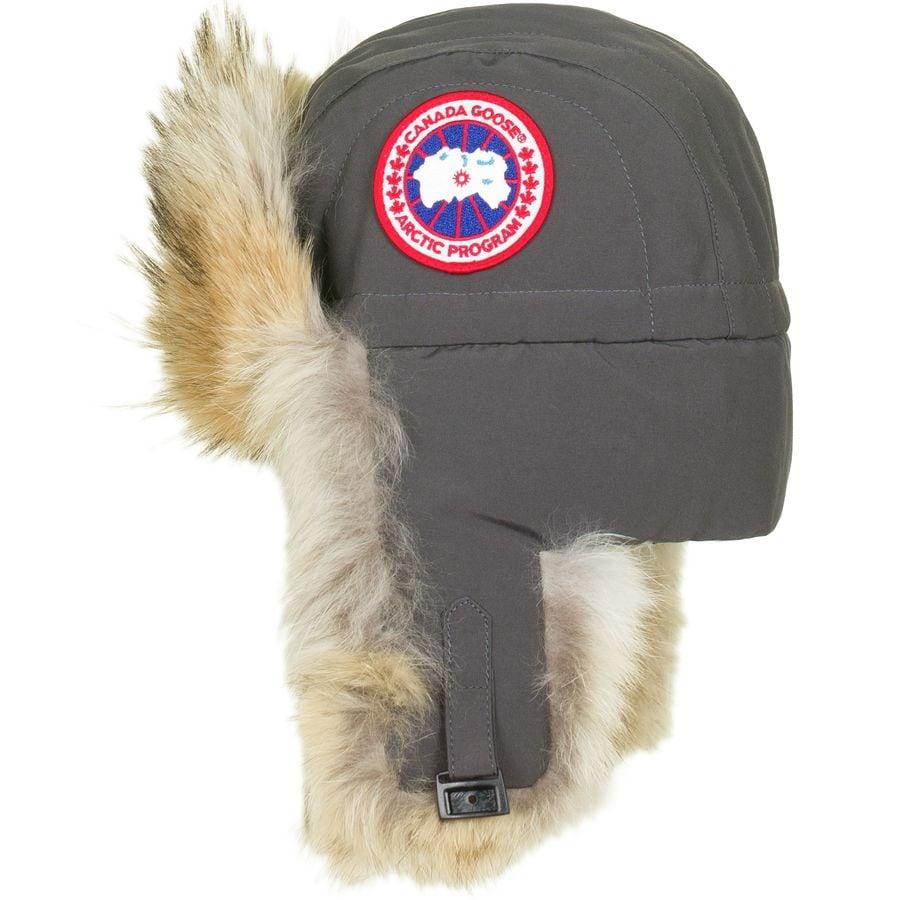 canada goose black label aviator hat