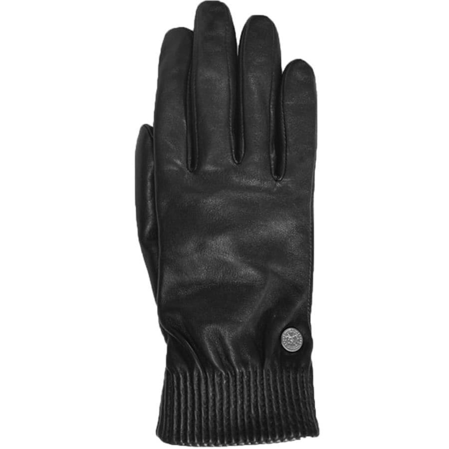 2285945f34f9 Canada Goose - Leather Rib Glove - Women s - Black