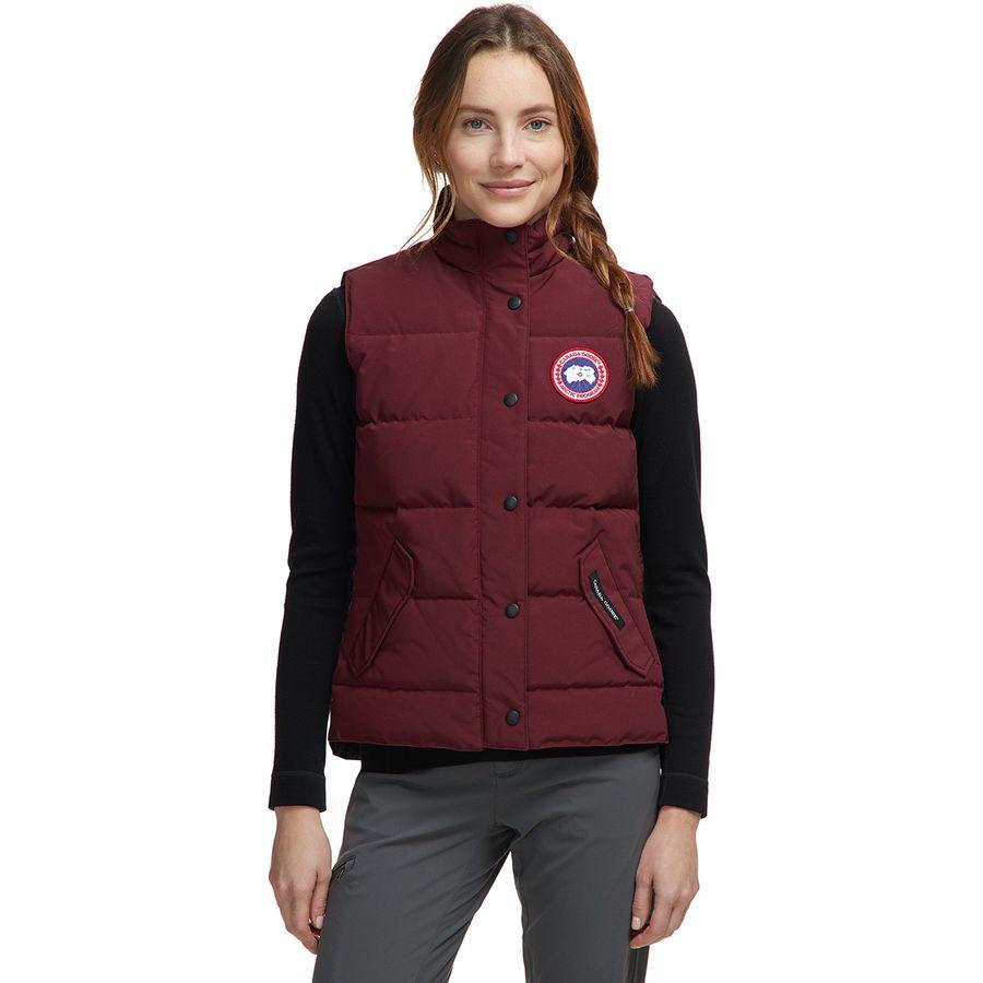 Canada Goose Women's Freestyle Vest Winter vest Elderberry | XS