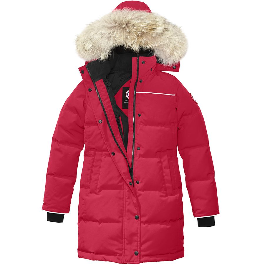 Girls Red Parka