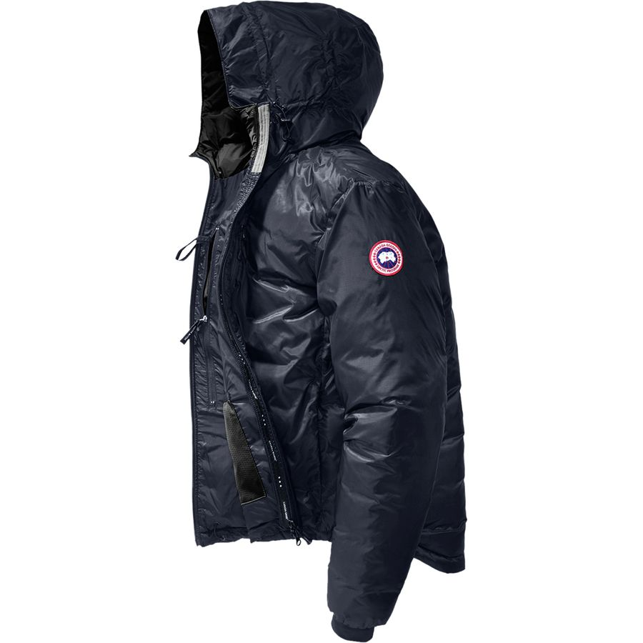Canada Goose - Lodge Down Hooded Jacket - Men's - Admiral Blue/Black