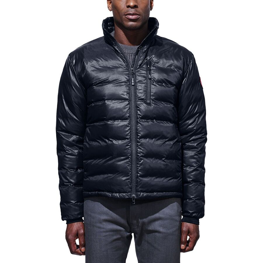 Canada Goose - Lodge Down Jacket - Men's - Admiral Blue/Black