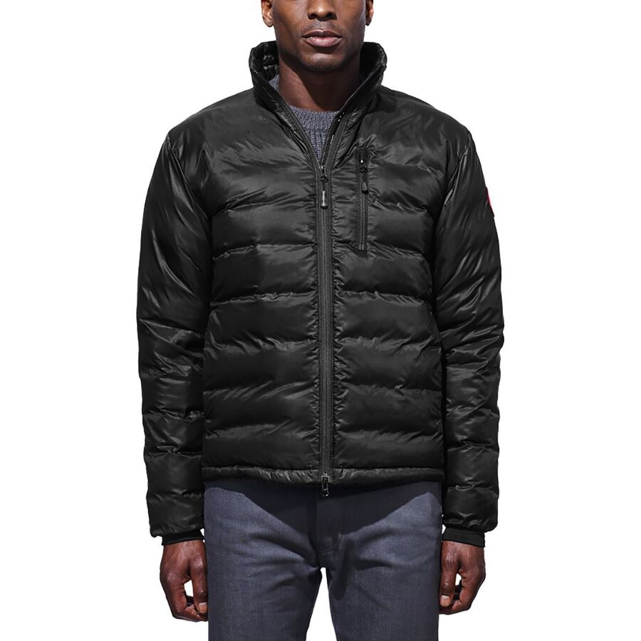 canada goose mens lodge jacket black
