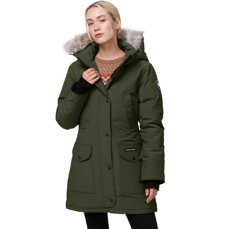 Canada Goose - Trillium Down Parka - Women s - Military Green 1f40709384
