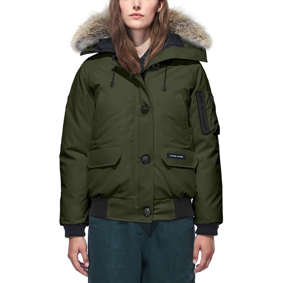 6699bc63462 Canada Goose - Chilliwack Bomber - Women's - Military Green