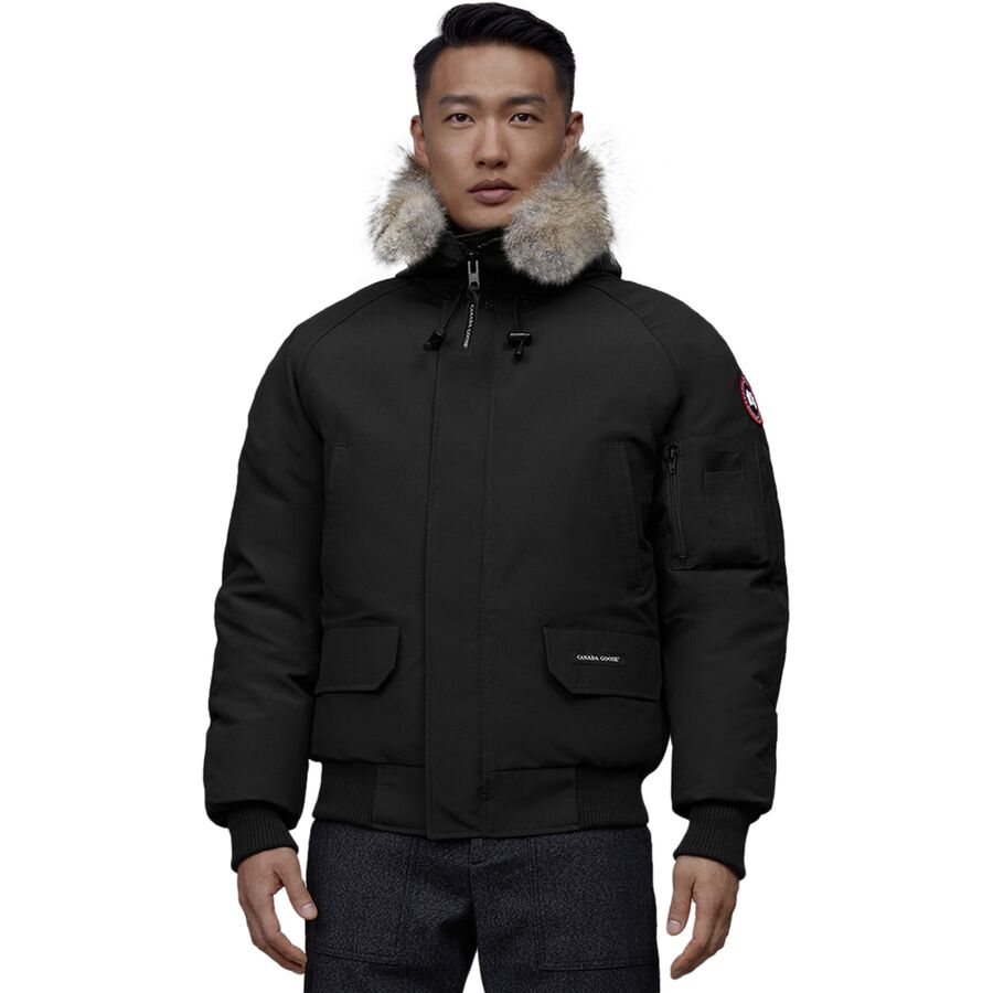Canada Goose - Chilliwack Bomber Down Parka - Men's - Black