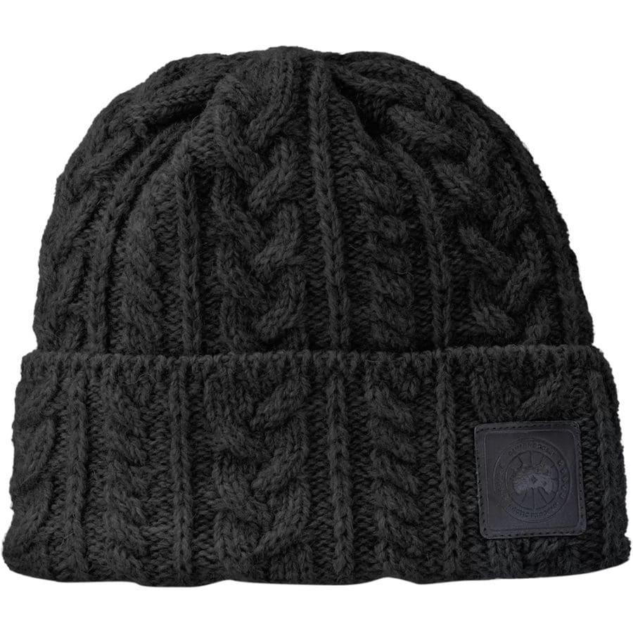 e0f4394f78053 Canada Goose - Chunky Wool Beanie - Women s - Black