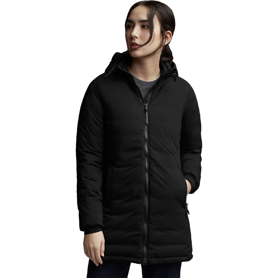 Canada Goose Camp Down Hooded Matte Finish Jacket Women's