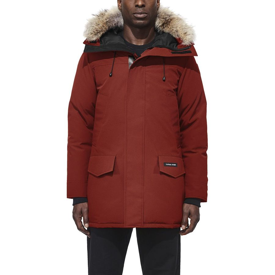 Learned New Canada Goose Langford Down Parka Genuine Coyote Fur Trim Sz M Brown Clothing, Shoes & Accessories