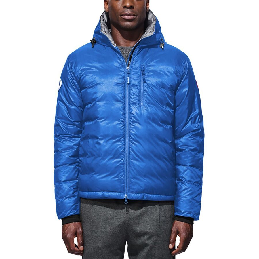 Canada Goose - Polar Bears International Lodge Hooded Down Jacket - Men s -  Pbi Blue a35559ef3