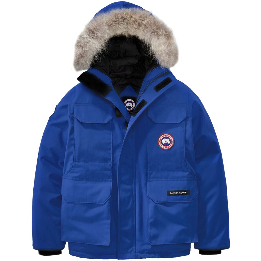 56f9a828304 Canada Goose - Polar Bears International Expedition Down Parka - Boys' -  PBI Blue