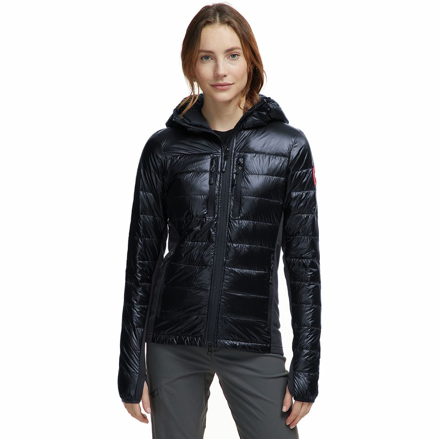 b9aa8519d6d Canada Goose - Hybridge Lite Hooded Down Jacket - Women's - Graphite/Black