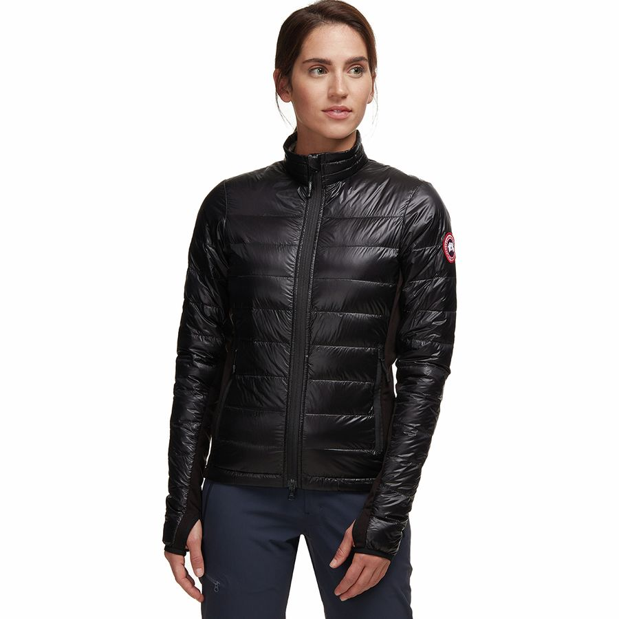 Canada Goose - Hybridge Lite Down Jacket - Women's - Black/Graphite