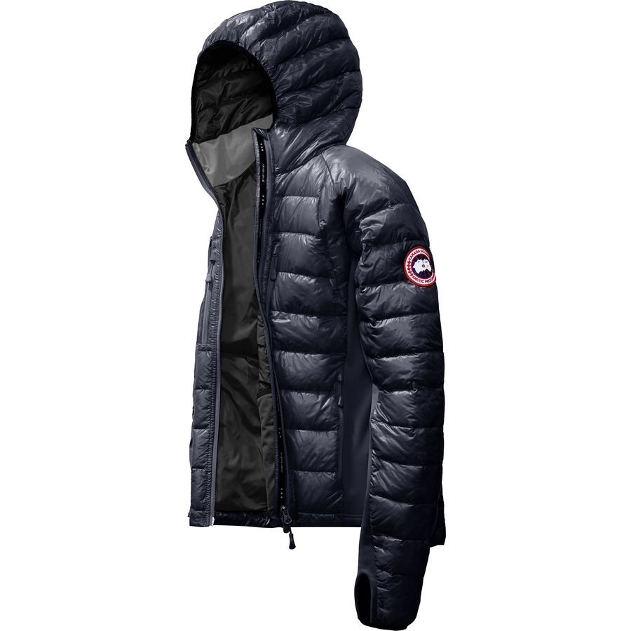 Canada Goose - Hybridge Lite Hooded Down Jacket - Men s - Admiral Blue Black acf04cdfc