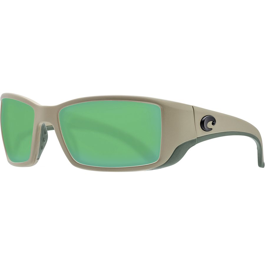 9eda3ea1b79 Costa - Blackfin 580G Polarized Sunglasses - Men s - Sand Green Mirror