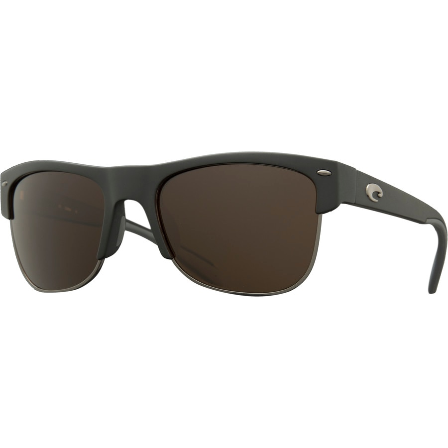 0114743ecc Costa - Pawleys 580G Polarized Sunglasses - Matte Black Copper 580g