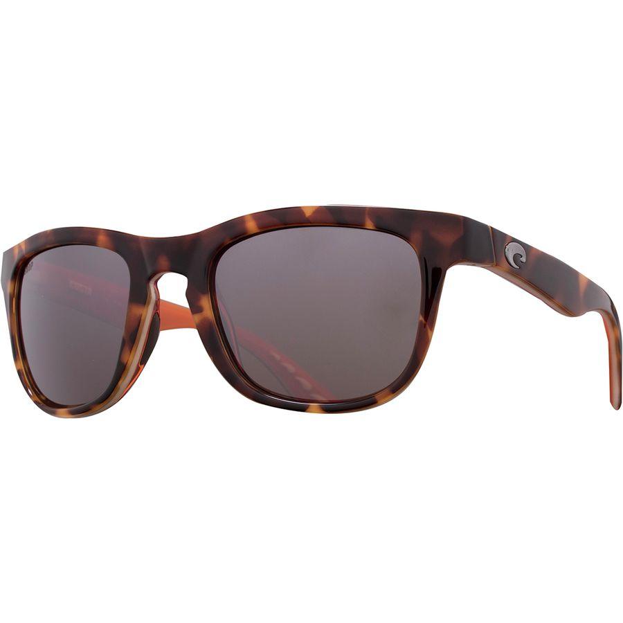 13470014e408 Costa - Copra 580P Polarized Sunglasses - Tortoise Cream Salmon Silver  Mirror 580p
