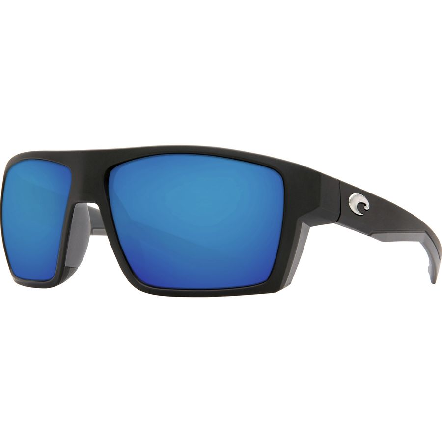 7344330ce4 Costa - Bloke 580G Polarized Sunglasses - Men s - Matte Black Matte Gray  Blue Mirror 580g
