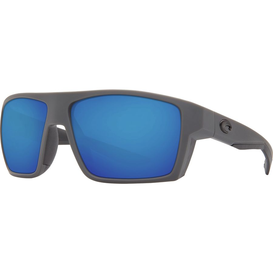 db3a4ed80a Costa - Bloke 580G Polarized Sunglasses - Men s - Matte Gray Matte Black  Blue Mirror 580g