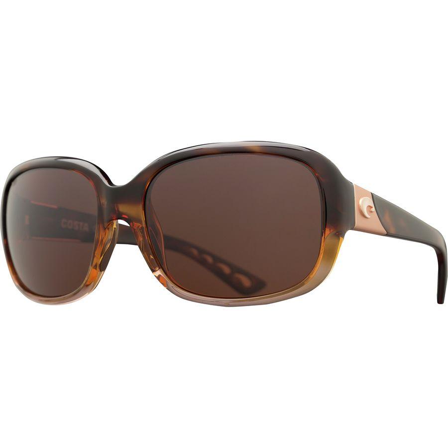 5baa291587e2 Costa - Gannet 580P Polarized Sunglasses - Women s - Shiny Tortoise Fade  Copper 580p