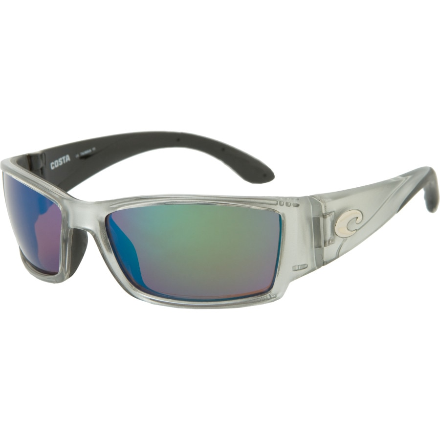 b2c9516f59 Costa - Corbina 580G Polarized Sunglasses - Men s - Silver Green Mirror