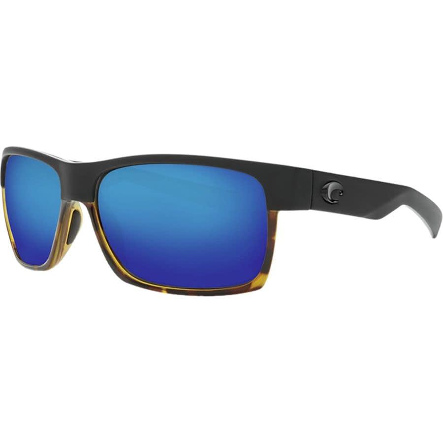 45717e766c8b Costa - Half Moon 580G Polarized Sunglasses - Blue Mirror 580g/Matte  Black/Shiny