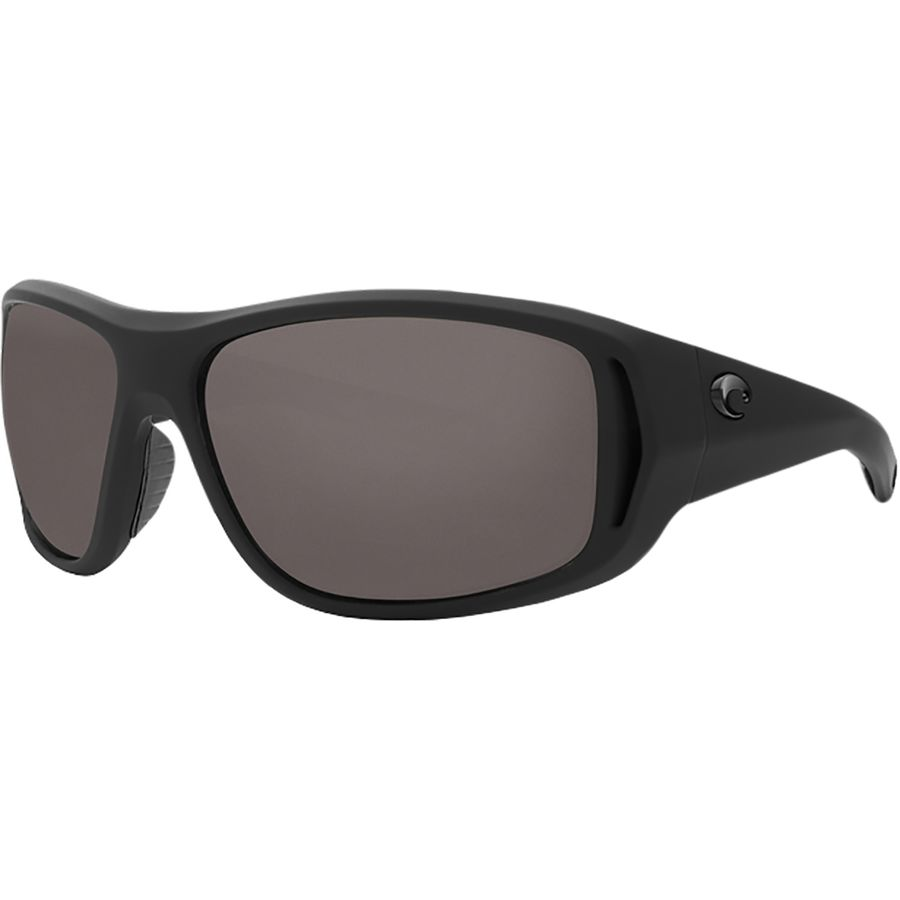 Costa - Montauk 580P Polarized Sunglasses - Men s - Gray 580p Matte Black  Ultra Frame 0535133f67c6
