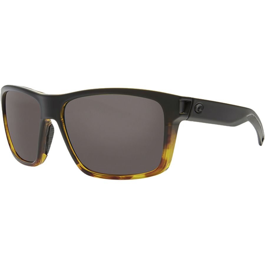 820f4dc6c00 Costa - Slack Tide 580G Polarized Sunglasses - Gray 580g Matte Black  Tortoise Frame