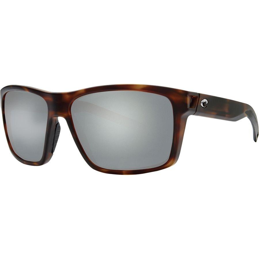 07b52875b2 Costa - Slack Tide 580P Polarized Sunglasses - Gray Silver Mirror  580p Matte Tortoise Frame