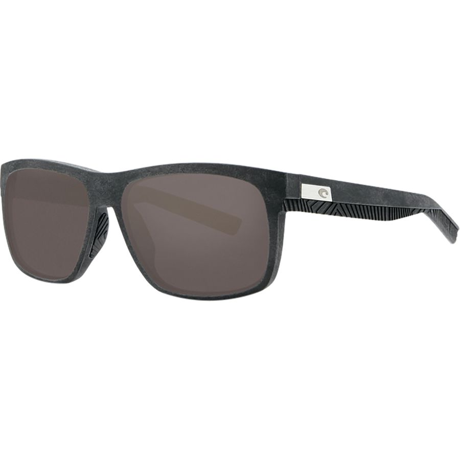 Costa - Baffin 580G Polarized Sunglasses - Net Gray Black Rubber Gray 1f8332efdf85
