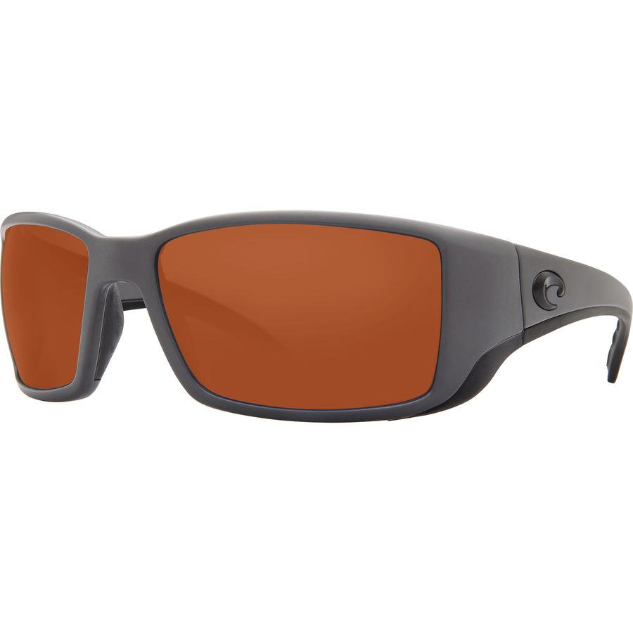 75864b11a Costa - Blackfin 580P Polarized Sunglasses - Matte Gray Copper 580p